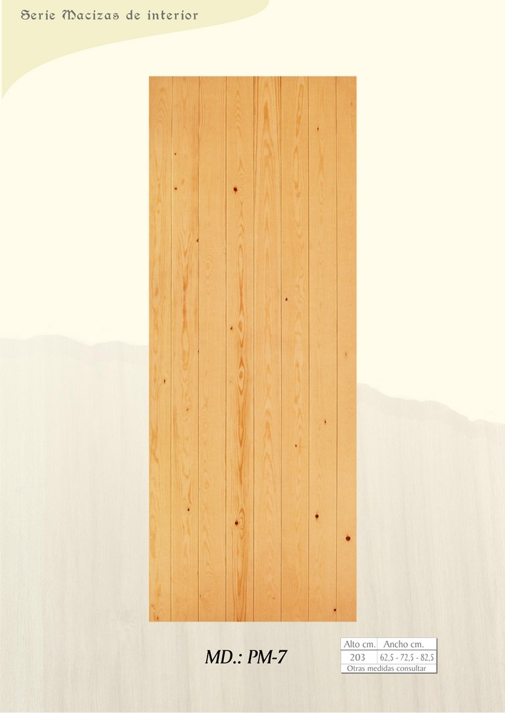 Puertas de interior macizas puertas de madera maciza for Puertas de interior de madera maciza