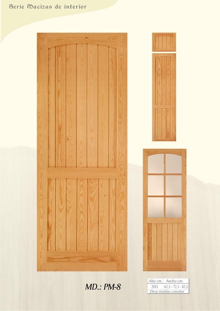 Puertas de interior macizas puertas de madera maciza for Puertas de madera maciza para interior