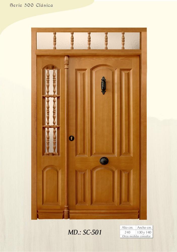 Puertas de calle clasicas puertas de exterior clasicas - Puertas de calle de madera ...