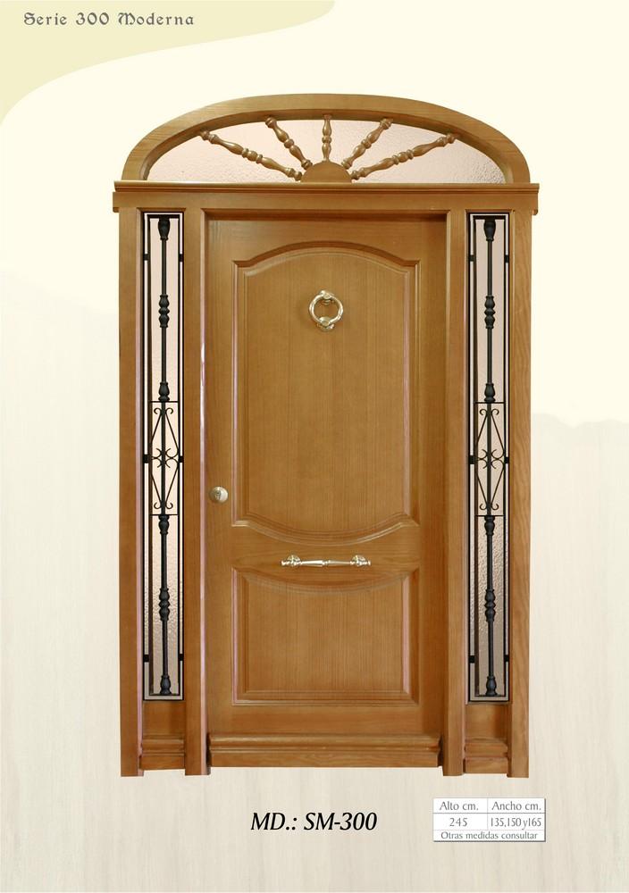 Puertas de calle modernas puertas de exterior modernas for Puertas grandes modernas