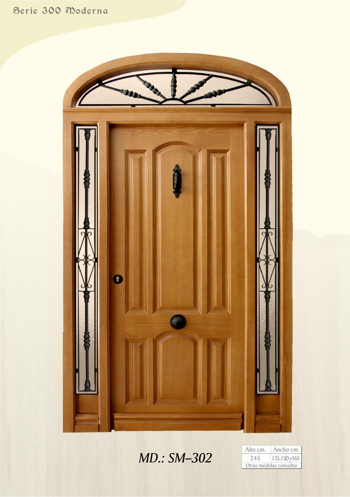 Puertas de calle modernas puertas de exterior modernas for Puertas de frente modernas