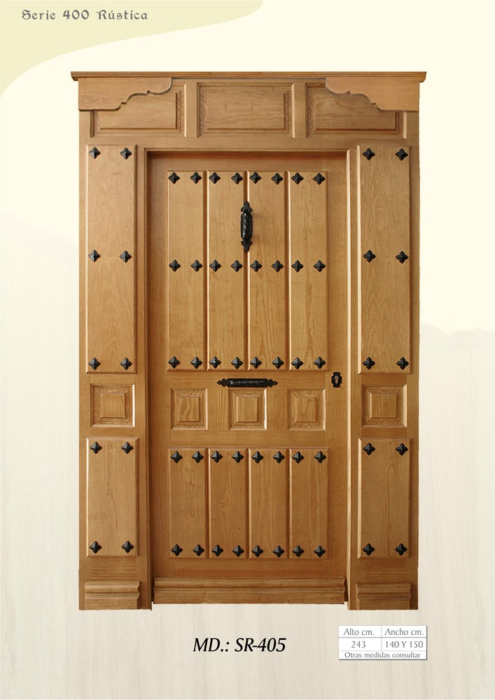 Puertas de calle r sticas puertas de exterior rusticas - Puertas de calle ...