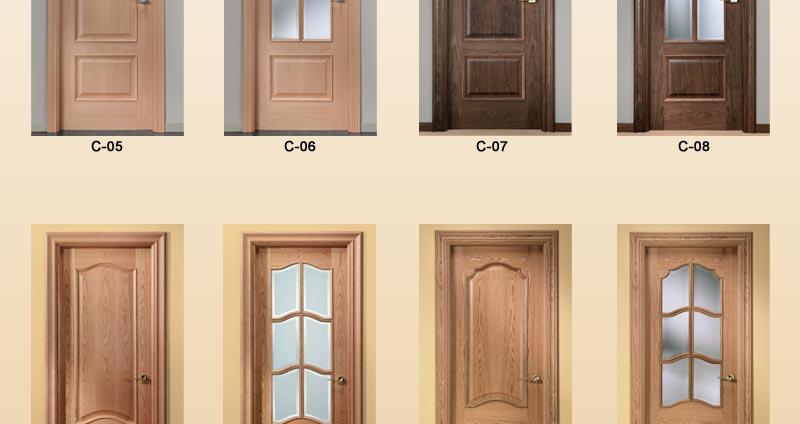 Puertas de interior cl sicas puertas de pino puertas - Puertas de interior ofertas ...