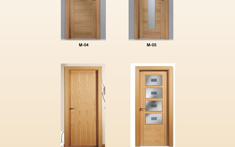 Puertas de interior modernas puertas para interior for Puertas de roble para interior