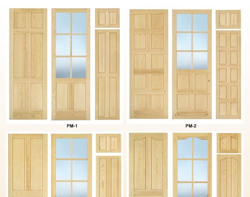 Puertas de interior de pino macizo puertas para interior for Puertas color pino